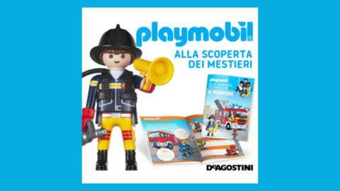 playmobil alla scoperta dei mestieri collana in edicola
