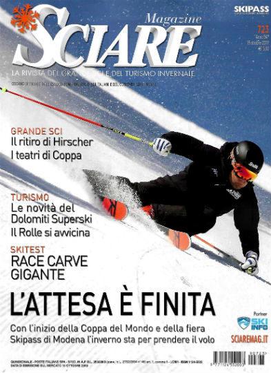 sciare magazine ottobre 2019 in edicola