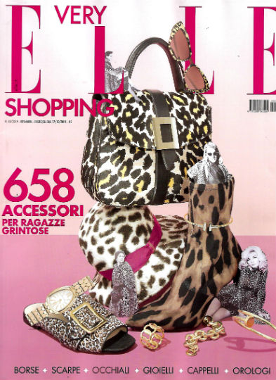 very elle shopping novembre 2019 in edicola