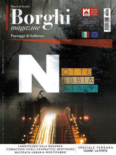 borghi magazine dicembre 2019 in edicola