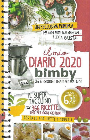 il mio diario 2020 bimby novembre 2019 in edicola