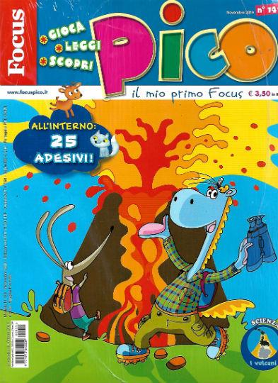 focus pico novembre 2019 in edicola