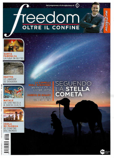 freedom magazine dicembre 2019 in edicola