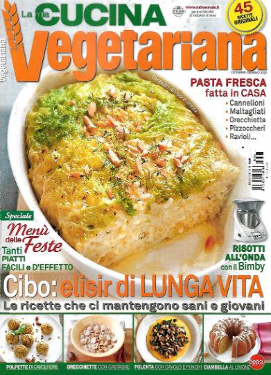 la mia cucina vegetariana dicembre 2019 in edicola