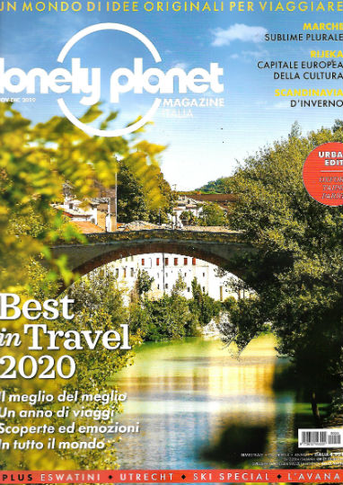 lonely planet magazine novembre 2019 in edicola
