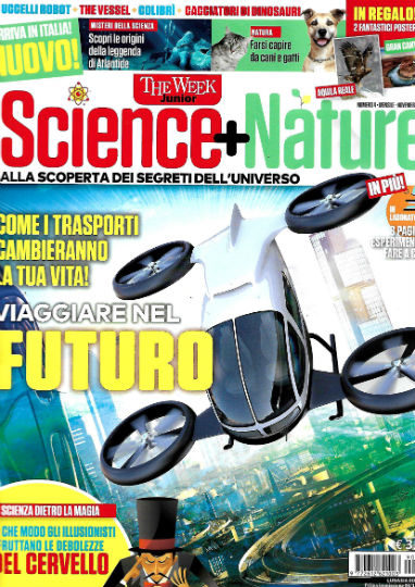 science + nature novembre 2019 in edicola