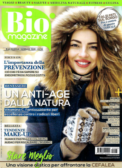 bio magazine gennaio 2020 in edicola