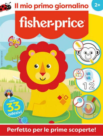 fisher-price il mio primo giornalino dicembre 2019 in edicola