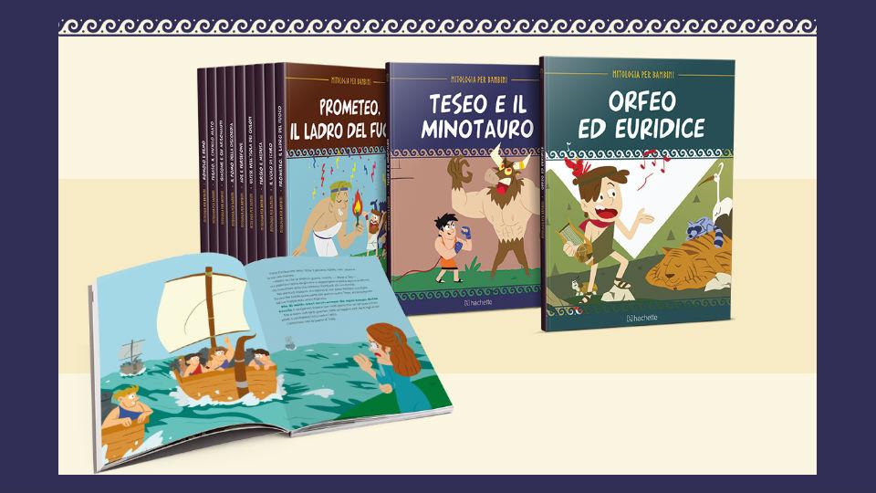 mitologia per bambini edizione 2020 collana in edicola