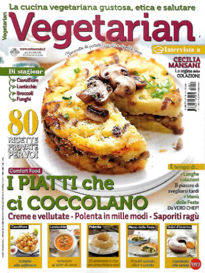 vegetarian gennaio 2020 in edicola