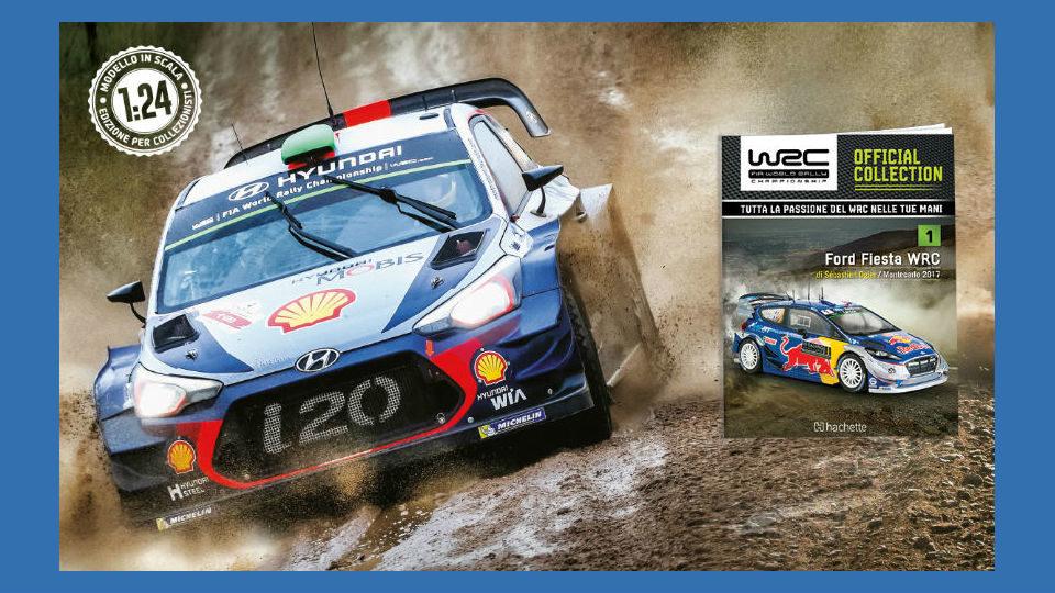 WRC official collection in edicola