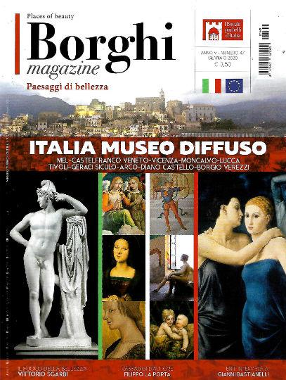 borghi magazine gennaio 2020 in edicola