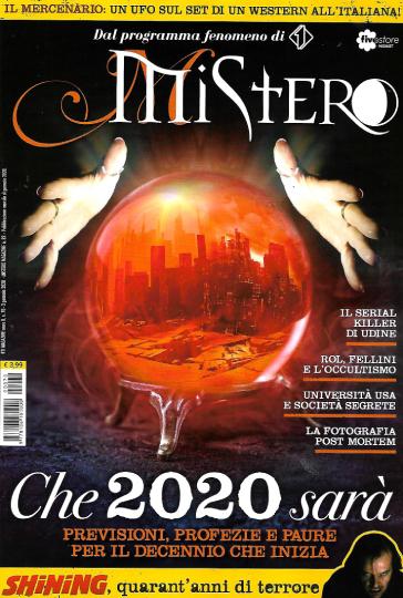 mistero gennaio 2020 in edicola