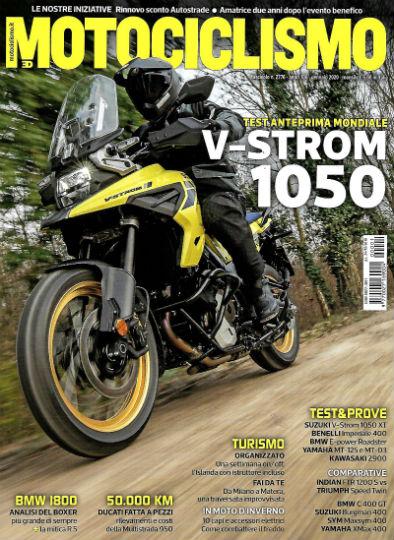 motociclismo gennaio 2020 in edicola