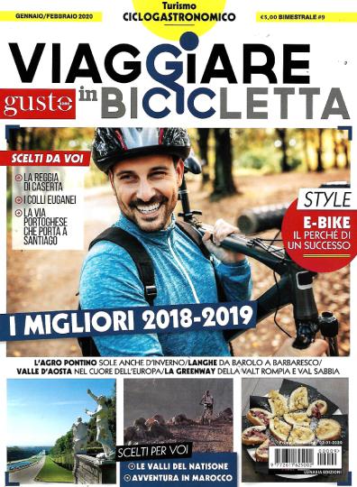 viaggiare in bicicletta gennaio 2020 in edicola