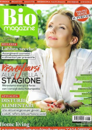 bio magazine marzo 2020 in edicola
