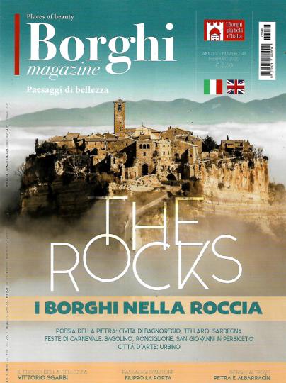 borghi magazine febbraio 2020 in edicola