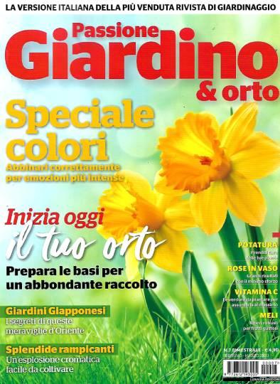 passione giardino & orto febbraio 2020 in edicola