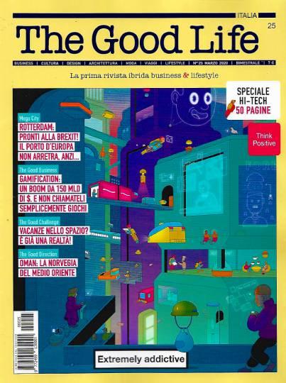 the good life febbraio 2020 in edicola