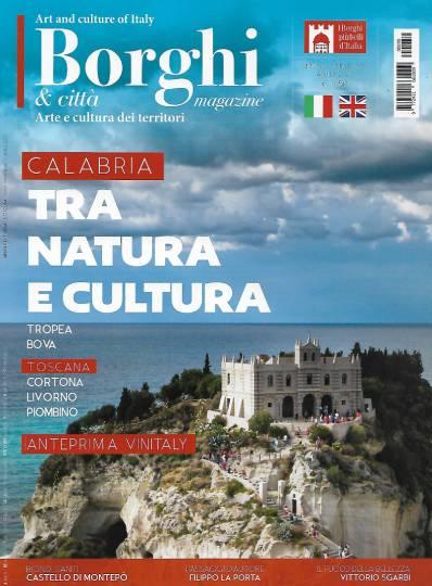 borghi magazine aprile 2020 in edicola