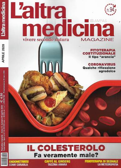 l'altra medicina magazine aprile 2020 in edicola