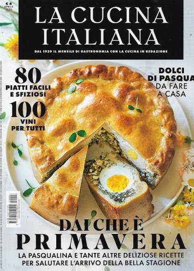 la cucina italiana aprile 2020