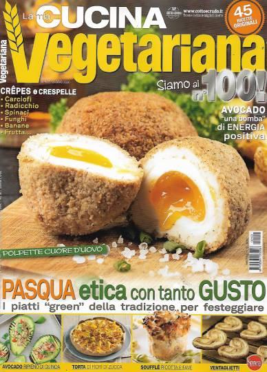 la mia cucina vegetariana aprile 2020 in edicola