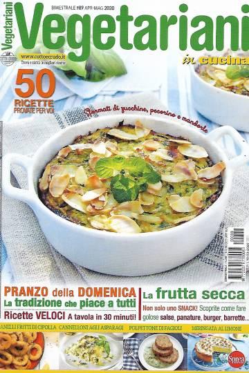 vegetariani in cucina aprile 2020 in edicola