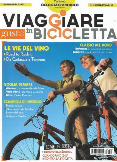 viaggiare in bicicletta marzo 2020 in edicola