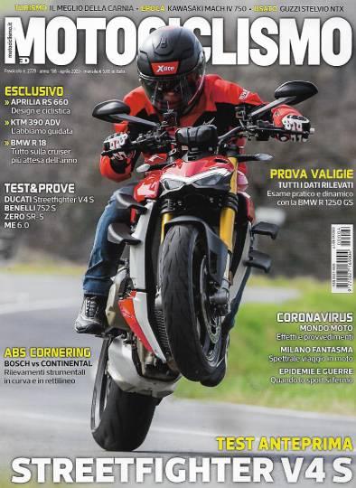 motociclismo aprile 2020 in edicola