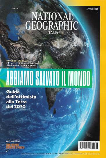 national geographic aprile 2020 in edicola