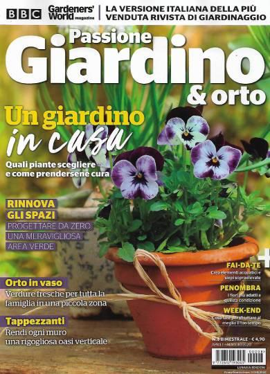 passione giardino & orto aprile 2020 in edicola