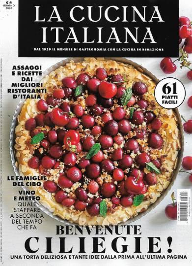 la cucina italiana giugno 2020 in edicola