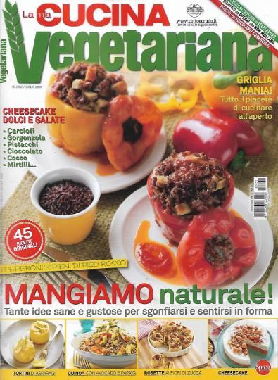 la mia cucina vegetariana giugno 2020 in edicola