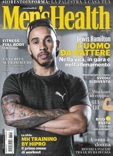 men's health aprile 2020 in edicola