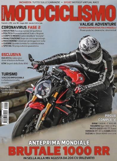 motociclismo maggio 2020 in edicola