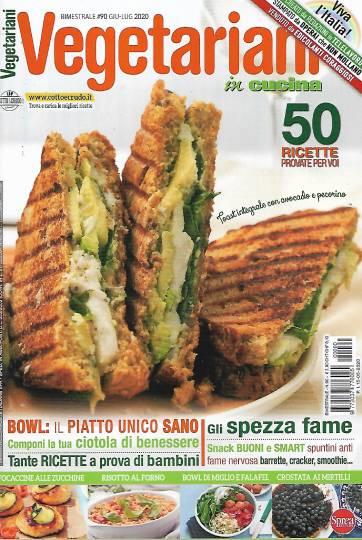 vegetariani in cucina maggio 2020 in edicola