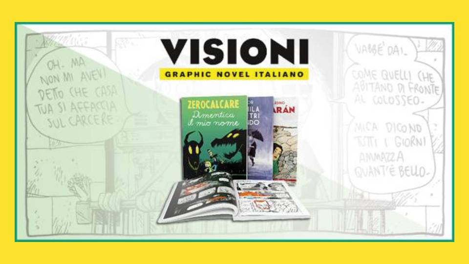 visioni graphic novel italiano collana in edicola