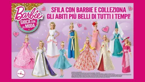 barbie gioca con la moda collezione in edicola