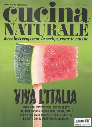 cucina naturale luglio 2020 in edicola