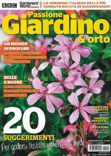 passione giardino & orto giugno 2020 in edicola