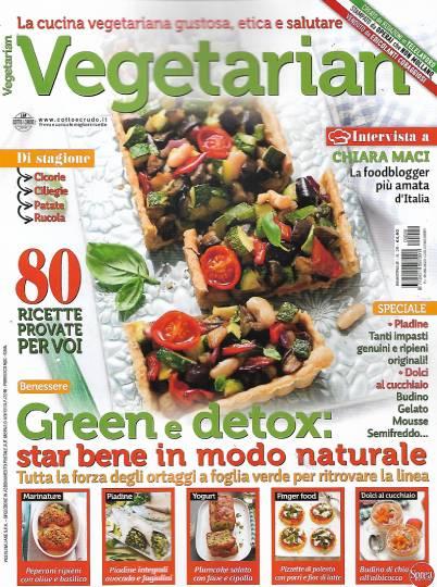 vegetarian luglio 2020 in edicola
