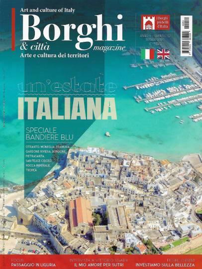 borghi magazine luglio 2020 in edicola