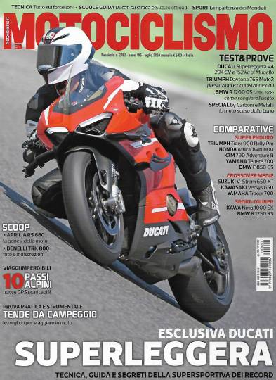 motociclismo luglio 2020 in edicola