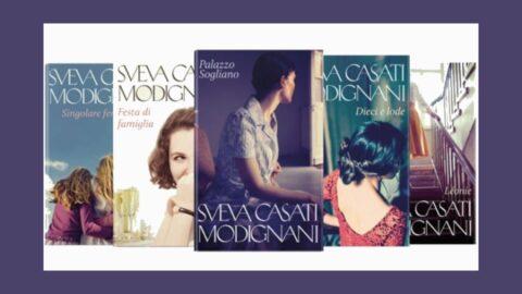 i romanzi di Sveva Casati Modignani in edicola