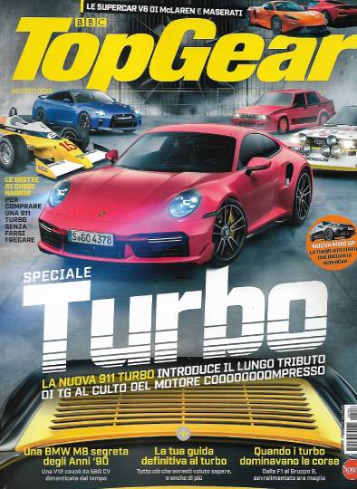 top gear agosto 2020 in edicola