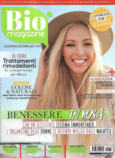 bio magazine settembre 2020 in edicola
