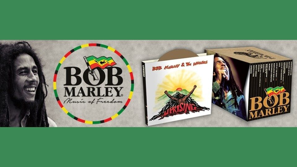 Bob Marley collection in edicola
