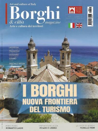 borghi magazine agosto 2020 in edicola