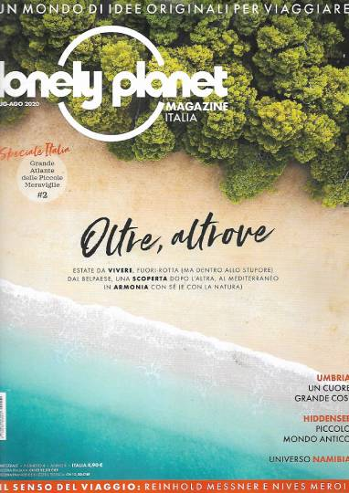 lonely planet magazine luglio 2020 in edicola